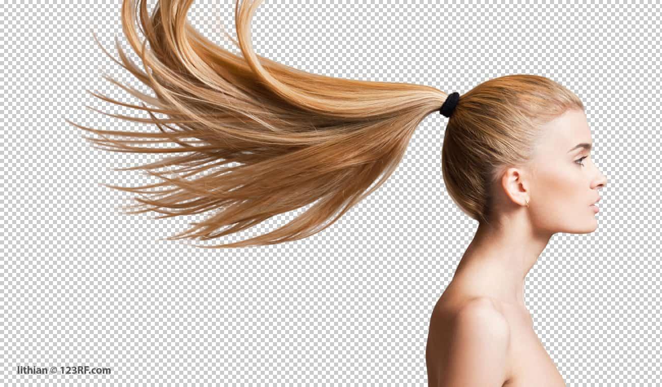 Haare freistellen in hoher Qualität